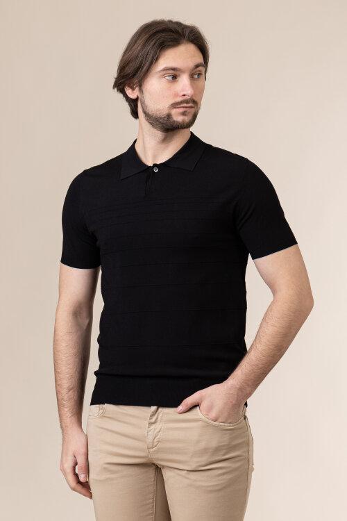 Polo Trussardi Jeans 52M00481_0F000483_K299 czarny