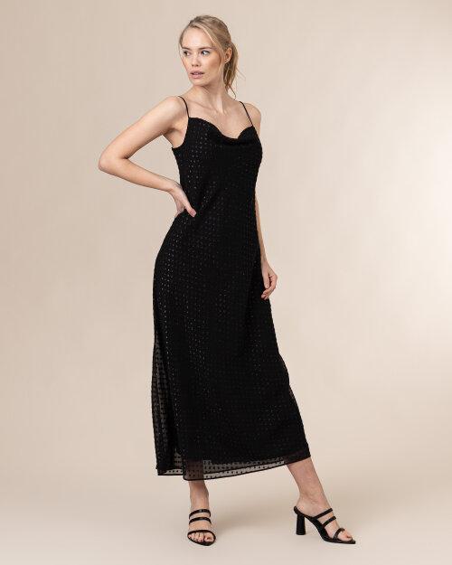 Sukienka Trussardi  56D00486_1T004930_K299 czarny