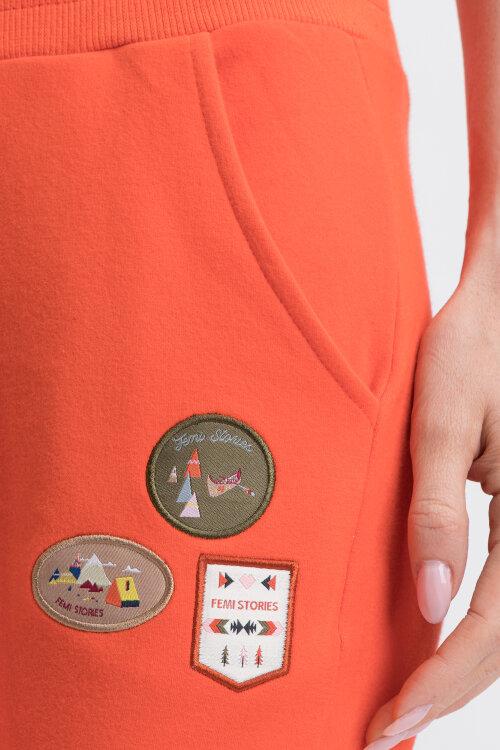 Spodnie Femi Stories HART_FORG pomarańczowy