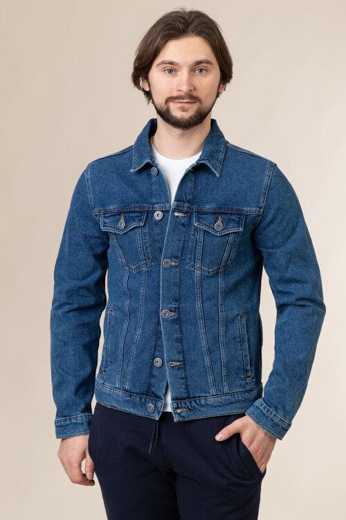 Kurtka Trussardi Jeans 52S00255_1Y000156_U280 niebieski