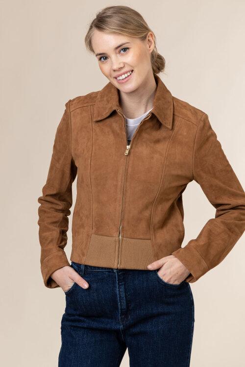 Kurtka Trussardi Jeans 56S00600_2P000221_B003 brązowy
