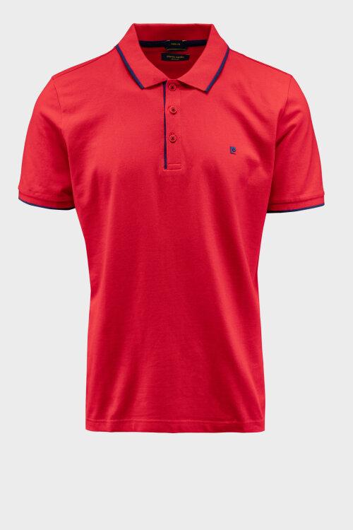 Polo Pierre Cardin 01225_52114_5080 czerwony
