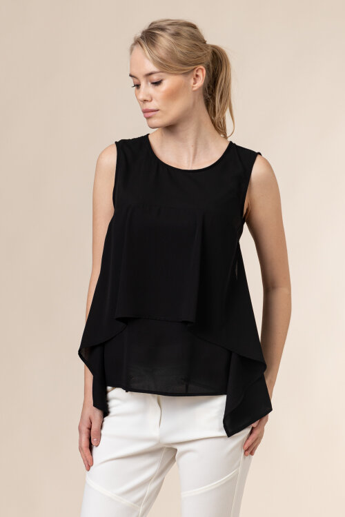 Bluzka Trussardi Jeans 56C00450_1T002799_K299 czarny