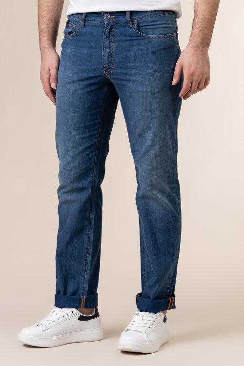 Spodnie Trussardi Jeans 52J00001_1Y000160_U280 niebieski