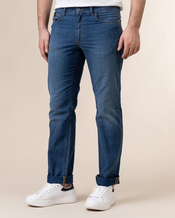 Spodnie Trussardi  52J00001_1Y000160_U280 niebieski
