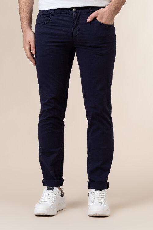 Spodnie Trussardi Jeans 52J00007_1T005015_U290 granatowy