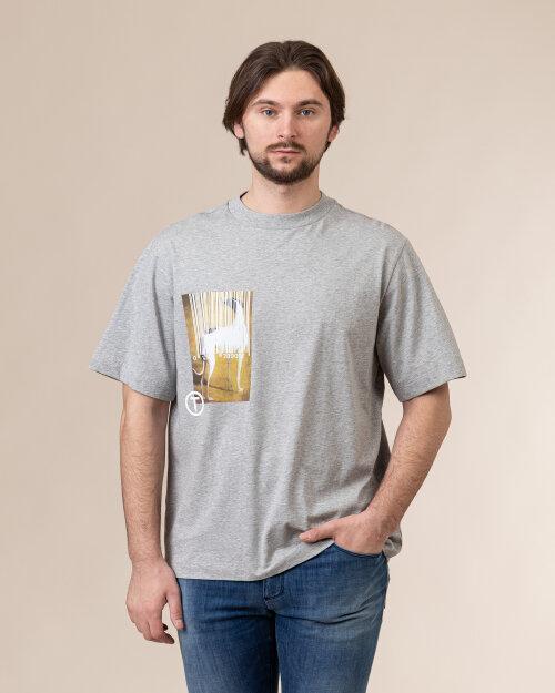 T-Shirt Trussardi  52T00456_1T005053_E210 szary
