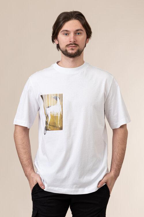 T-Shirt Trussardi Jeans 52T00456_1T005053_W001 biały