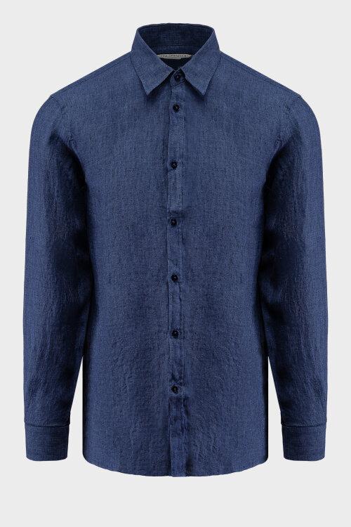 Koszula Trussardi Jeans 52C00212_1T002248_U290 granatowy