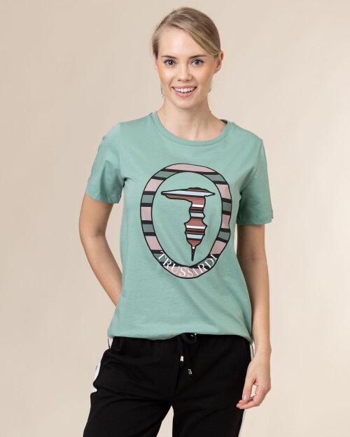 T-Shirt Trussardi  56T00371_1T005228_G217 zielony