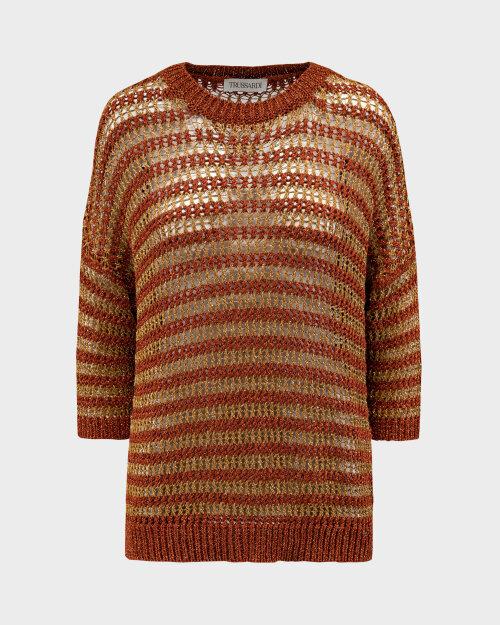 Sweter Trussardi  56M00417_0F000505_O653 brązowy