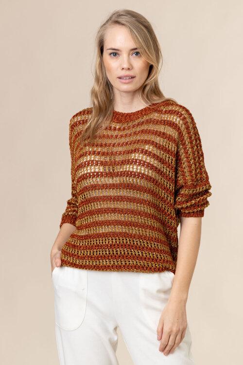Sweter Trussardi Jeans 56M00417_0F000505_O653 brązowy