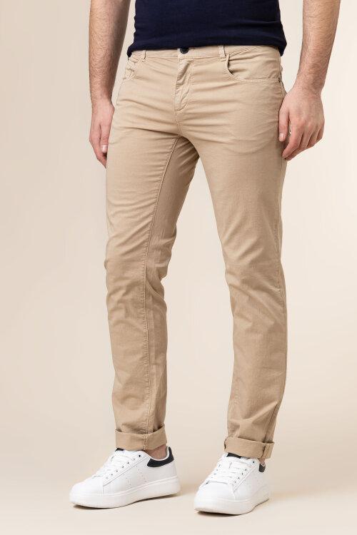 Spodnie Trussardi Jeans 52J00007_1T005015_W105 beżowy