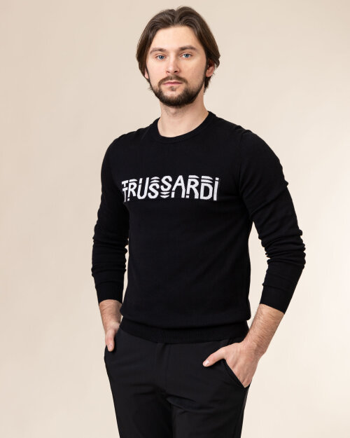 Sweter Trussardi  52M00484_0F000471_K299 czarny
