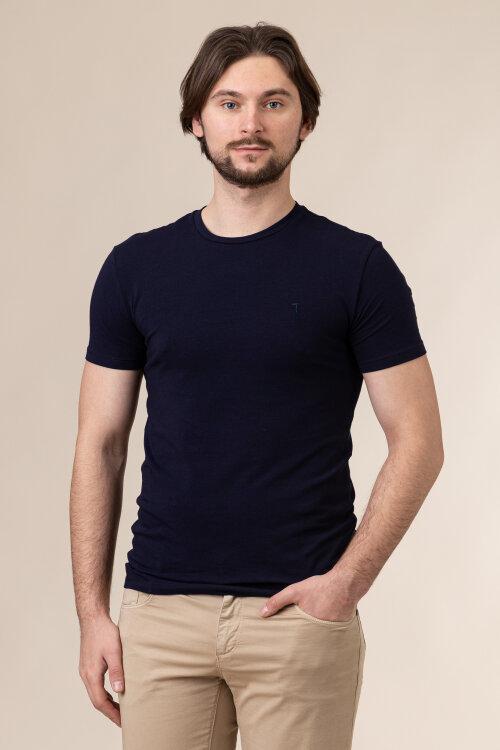 T-Shirt Trussardi Jeans 52T00499_1T003614_U290 granatowy