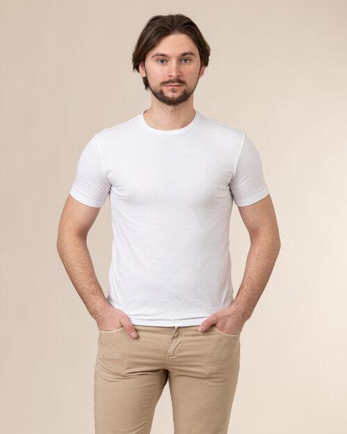 T-Shirt Trussardi  52T00499_1T003614_W001 biały