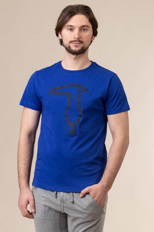 T-Shirt Trussardi Jeans 52T00502_1T003610_U260 niebieski