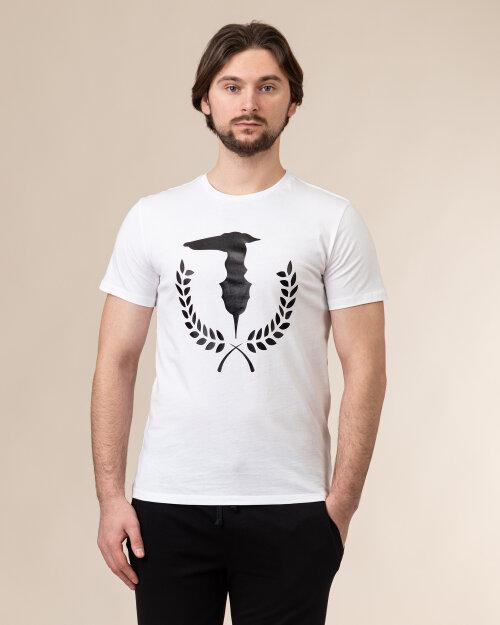 T-Shirt Trussardi  52T00504_1T003613_W001 biały