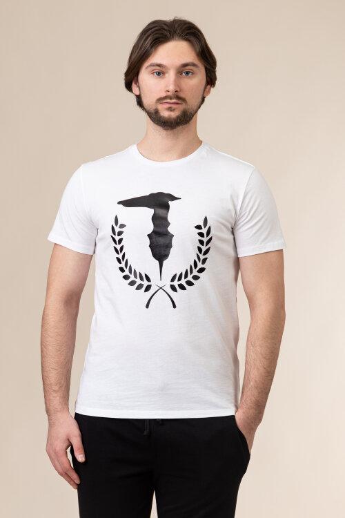T-Shirt Trussardi Jeans 52T00504_1T003613_W001 biały