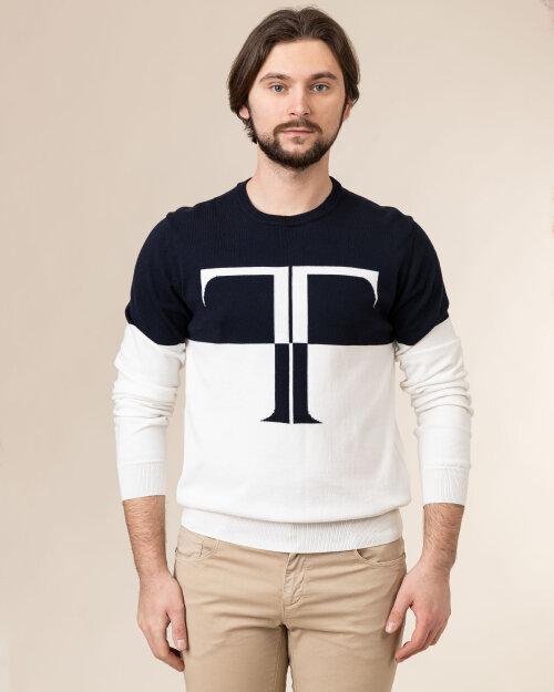 Sweter Trussardi  52M00479_0F000669_W002 fioletowy
