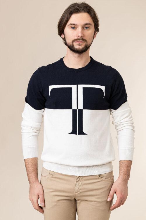 Sweter Trussardi Jeans 52M00479_0F000669_W002 fioletowy