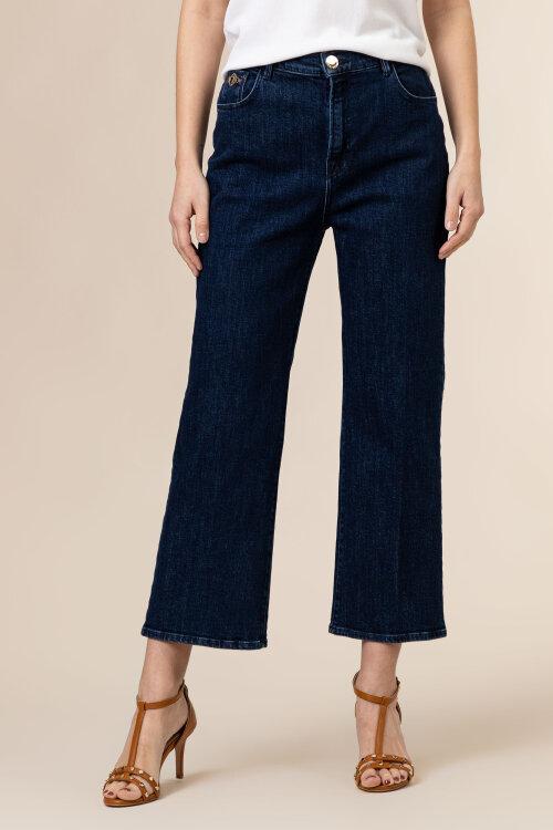 Spodnie Trussardi Jeans 56J00105_1T005108_U290 granatowy