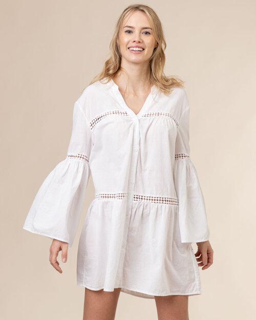 Sukienka Trussardi  56D00528_1T003476_W001 biały