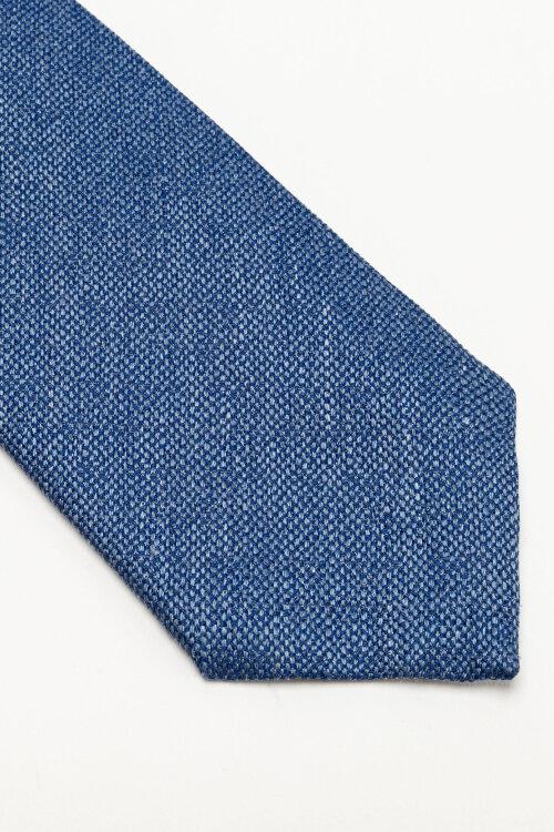 Krawat Eton A000_32986_26 niebieski