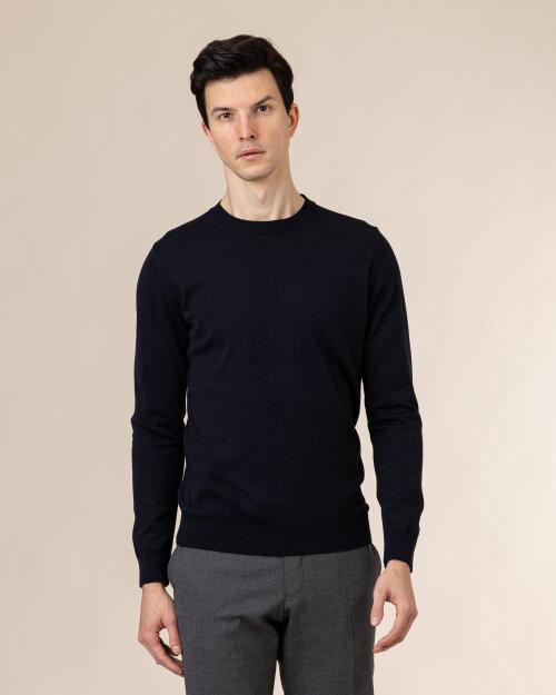 Sweter Oscar Jacobson CUSTER 6439_3918_211 granatowy