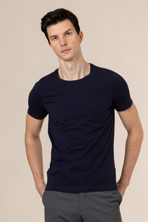 T-Shirt Oscar Jacobson KYRAN 6789_3815_215 granatowy