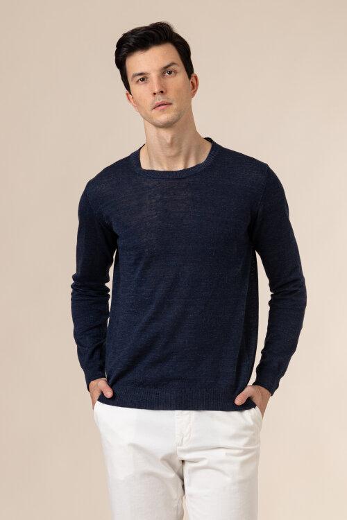 Sweter Oscar Jacobson CUSTER 6439_5644_223 granatowy