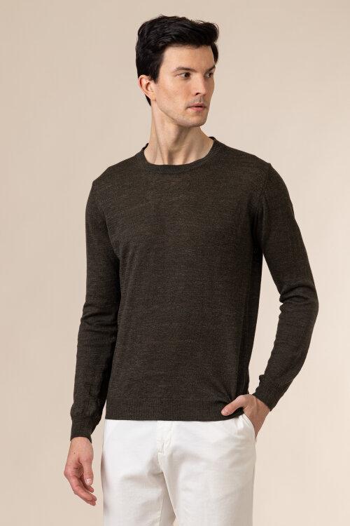Sweter Oscar Jacobson CUSTER 6439_5644_822 zielony