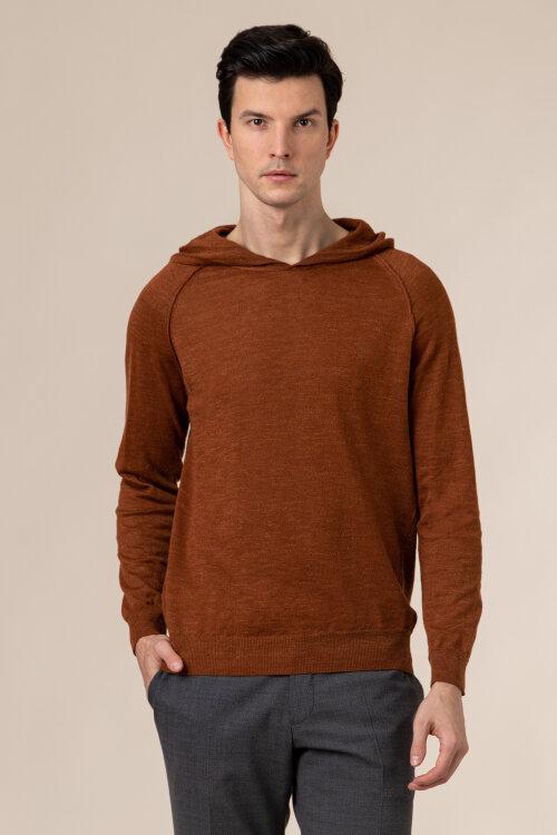 Sweter Oscar Jacobson PASCAL 6765_5644_568 brązowy