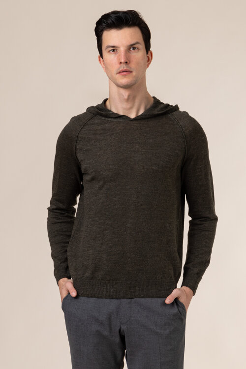Sweter Oscar Jacobson PASCAL 6765_5644_822 zielony