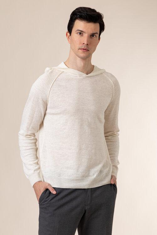 Sweter Oscar Jacobson PASCAL 6765_5644_904 kremowy
