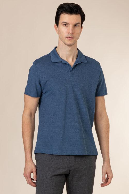 Polo Oscar Jacobson BARREY 6774_3619_201 niebieski