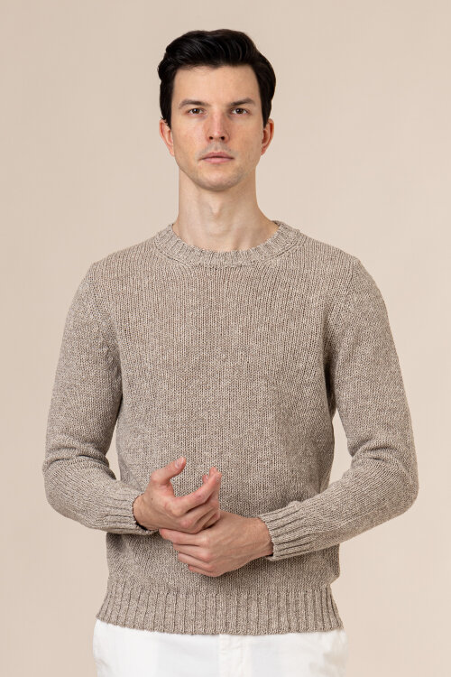 Sweter Oscar Jacobson SIMONE 6962_5642_470 beżowy