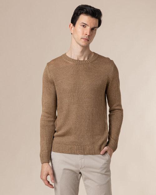 Sweter Oscar Jacobson ADRIAN 6963_5645_414 brązowy