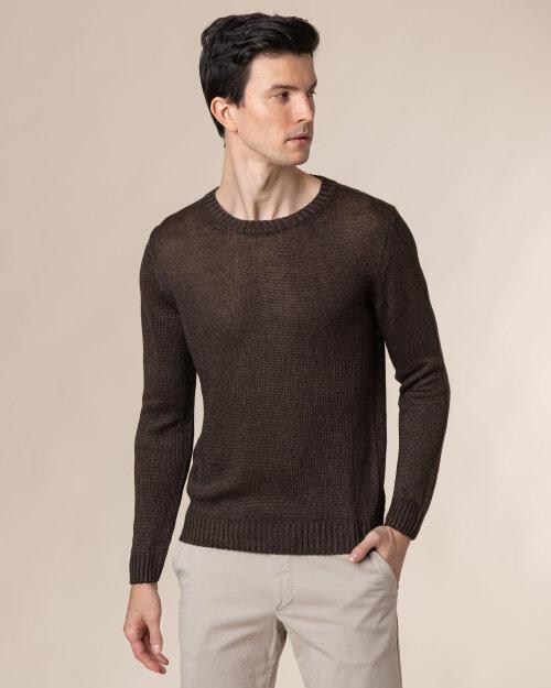 Sweter Oscar Jacobson ADRIAN 6963_5645_559 brązowy