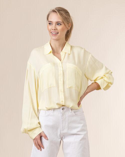 Koszula Na-Kd 1018-006363_LIGHT YELLOW żółty