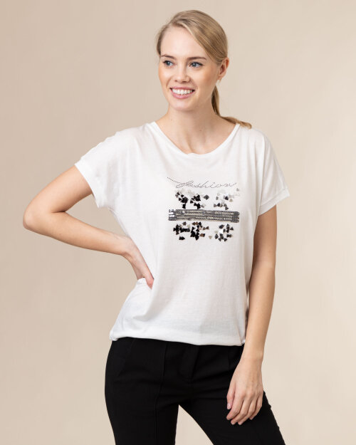 T-Shirt Campione 8092145_121130_40100 biały
