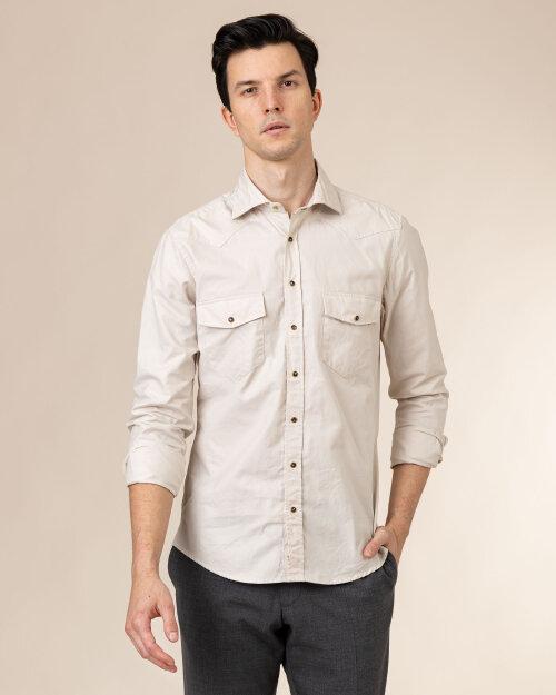 Koszula Stenstroms 778921_7886_200 beżowy