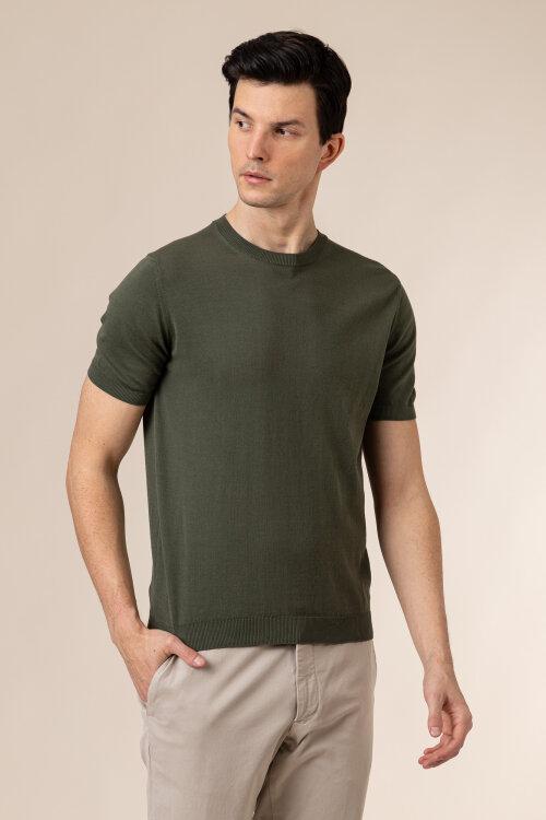 T-Shirt Oscar Jacobson BARTH 6848_3918_836 zielony