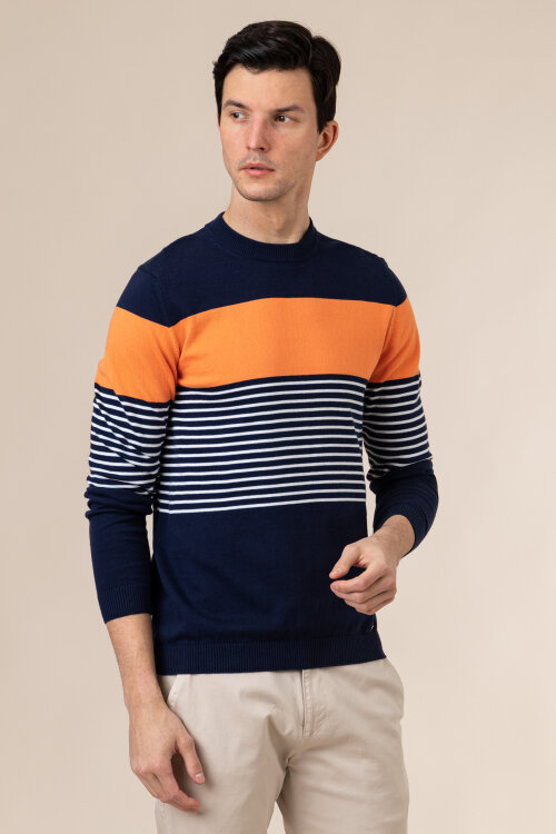 Sweter Roy Robson 091048531049600/01_C401 granatowy