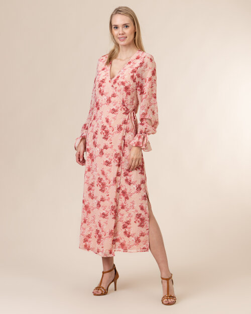 Sukienka Na-Kd 1018-006279_ROSE PRINT różowy