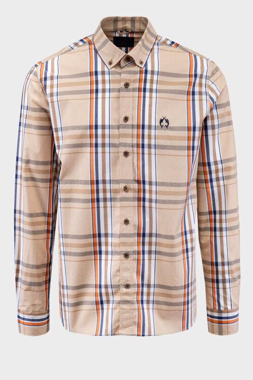 Koszula Campione 8707150_111230_41921 beżowy
