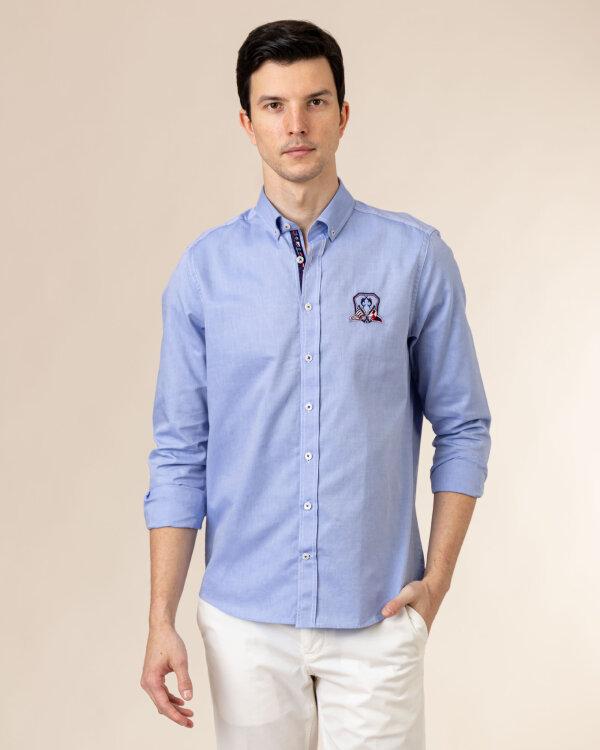 Koszula Campione 8707088_111230_83105 niebieski