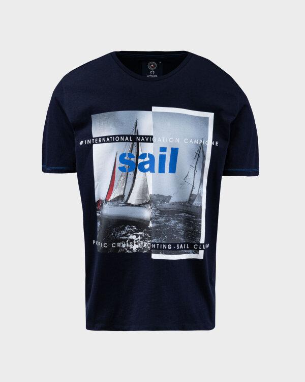 T-Shirt Campione 8097038_111130_85400 granatowy