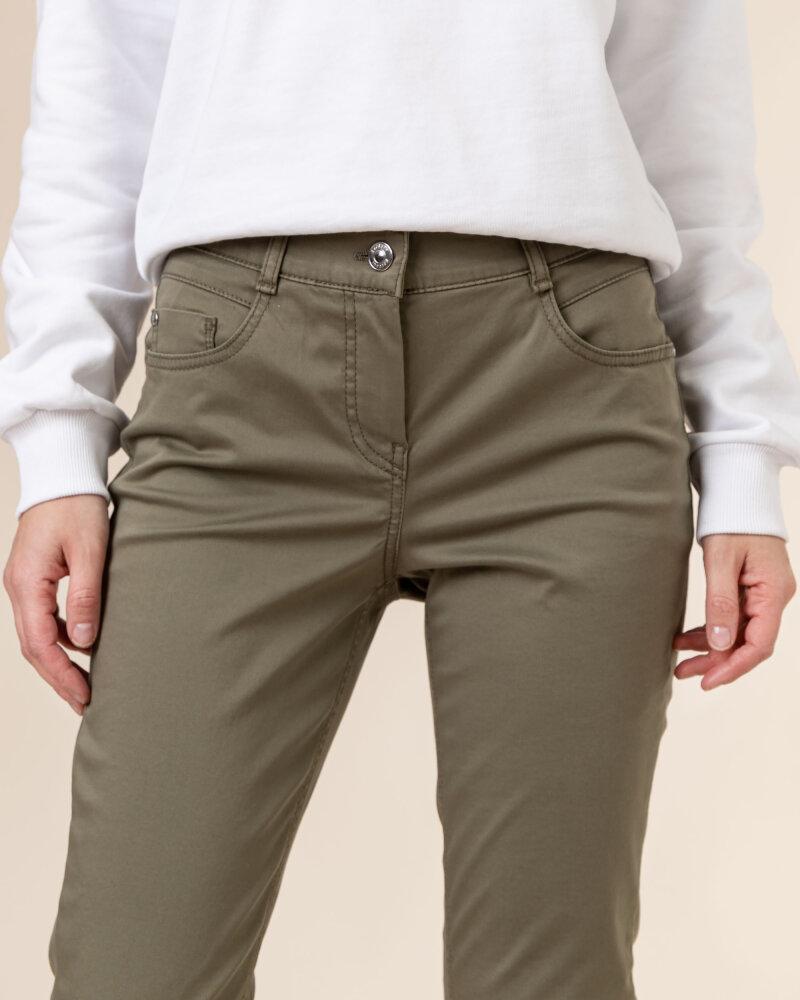 Spodnie Atelier Gardeur ZURI90 601021_75 zielony - fot:3