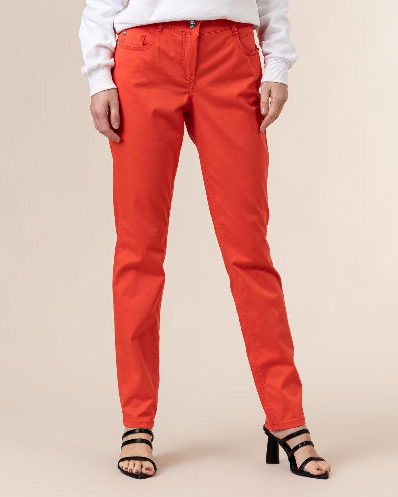 Spodnie Atelier Gardeur ZURI90 601021_37 czerwony - fot:2